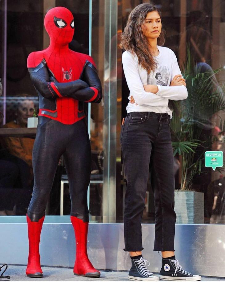 Человек-паук и ЭмДжей