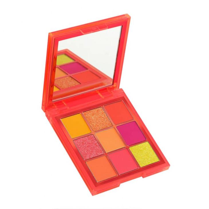 Huda Beauty Neon Orange Obsessions Eyeshadow Palette