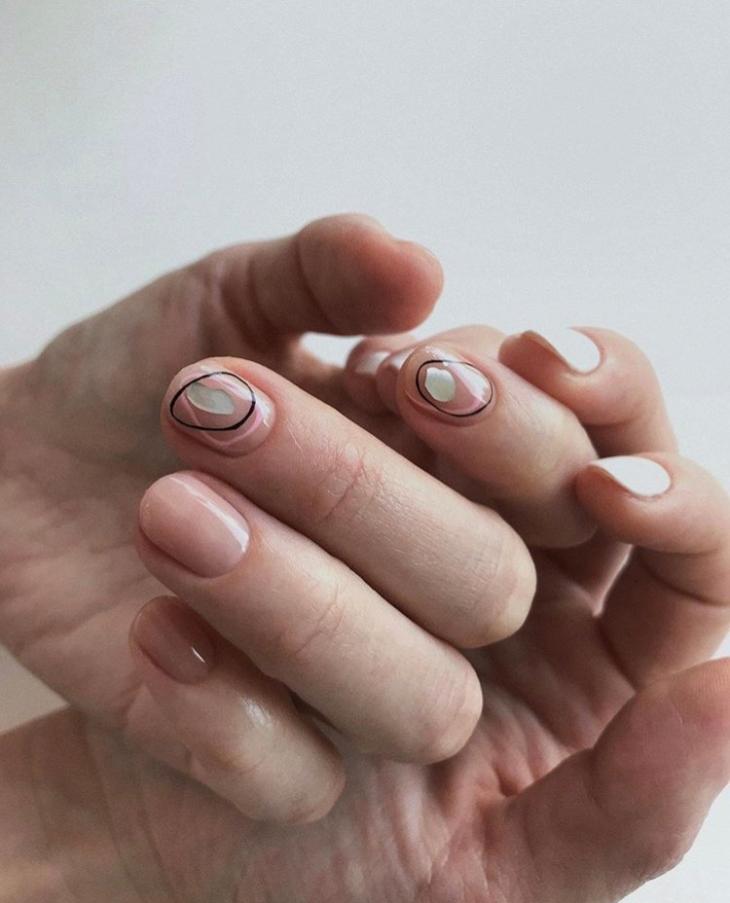 Маникюр на короткие ногти 2019