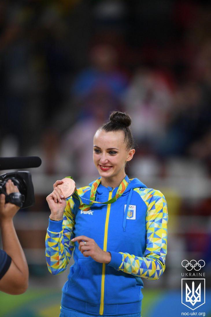 Олимпийская чемпионка Анна Ризатдинова