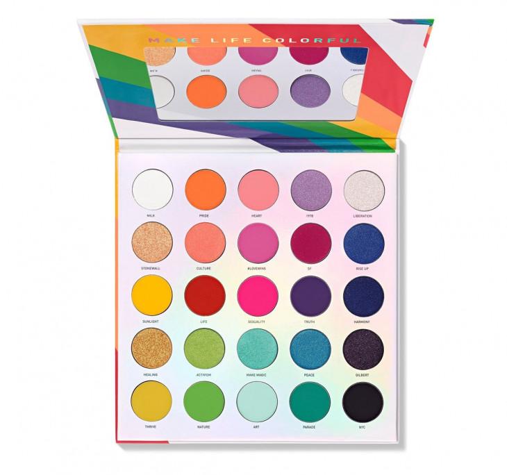 Morphe 25L Live in Colour Artistry Palette