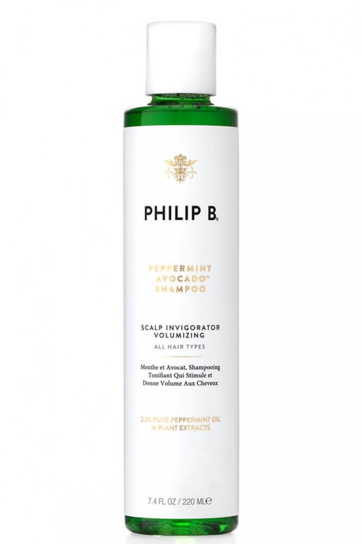 Philip B Peppermint and Avocado Volumizing & Clarifying Shampoo