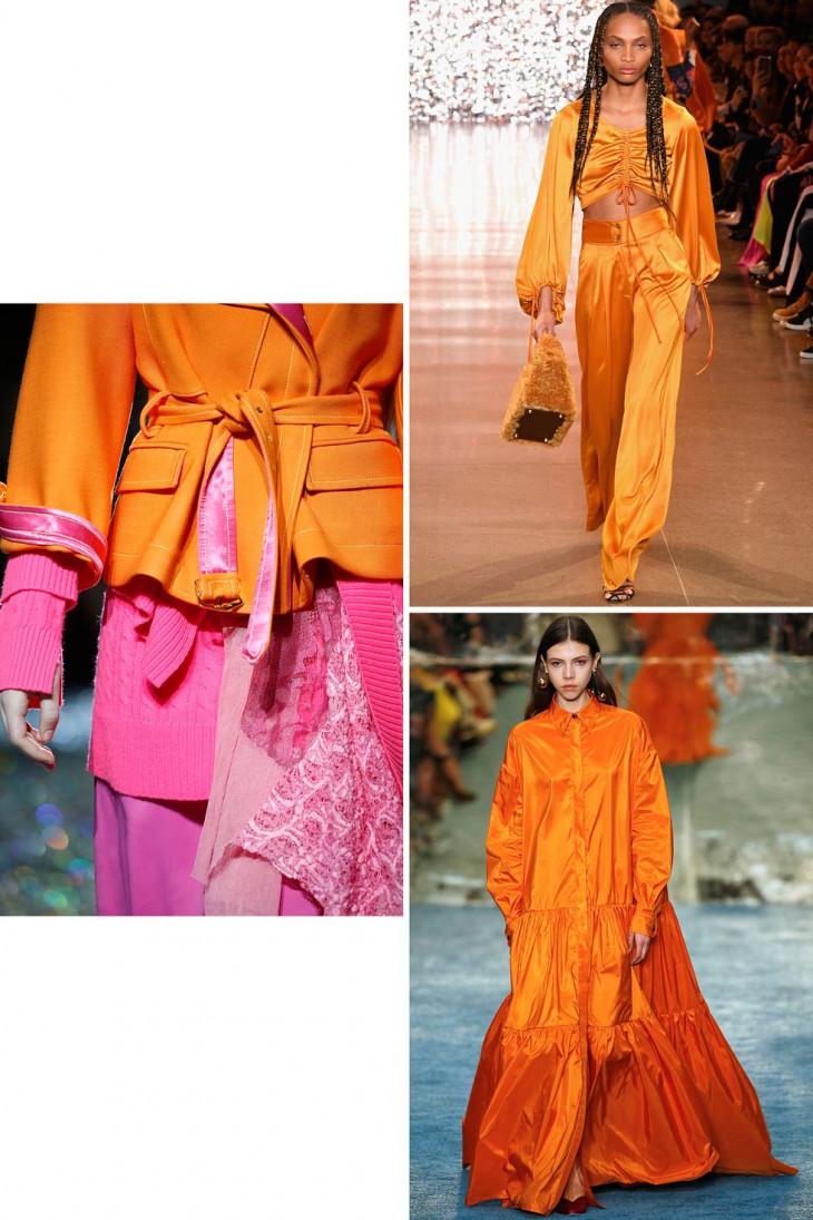 Оранжевый цвет 2019