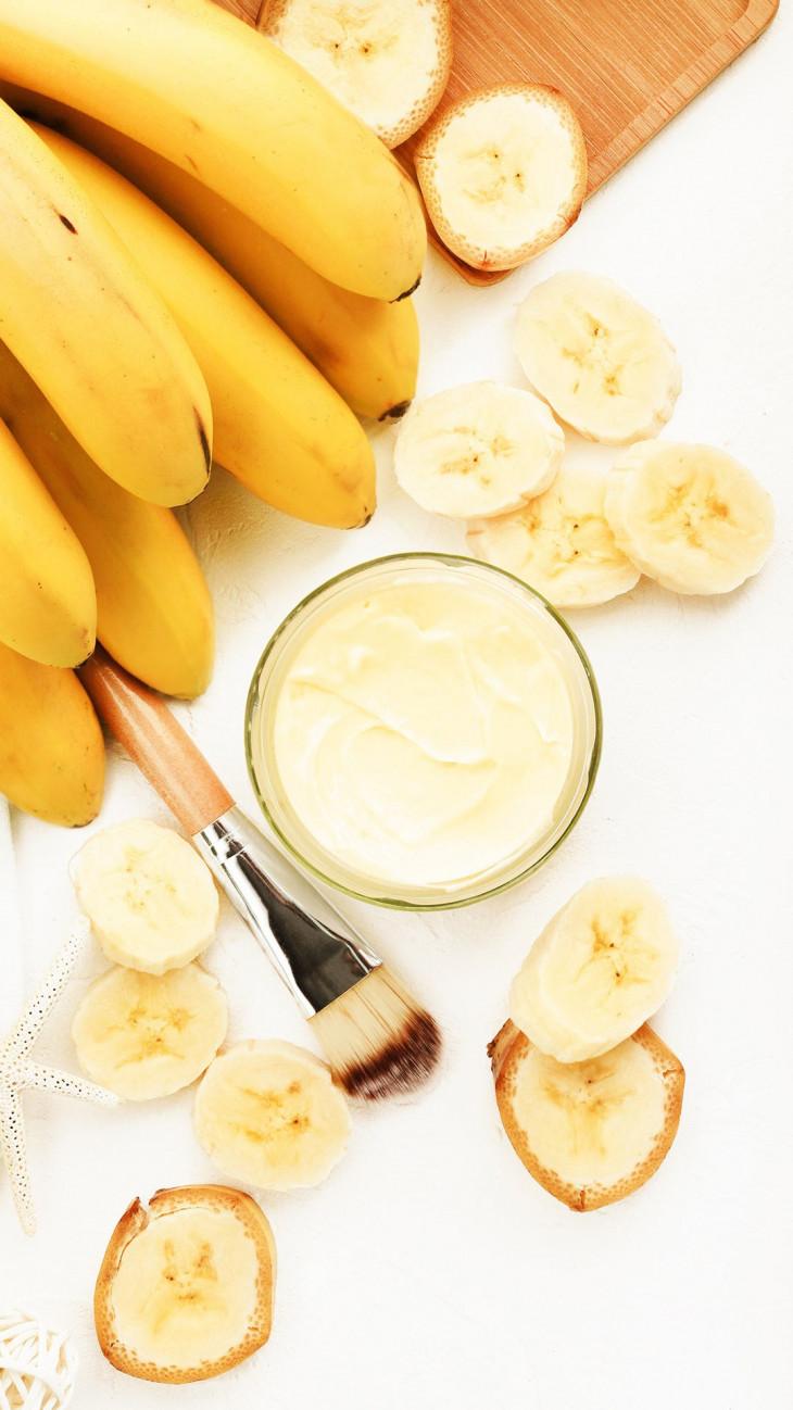 Банановая маска от выпадения волос