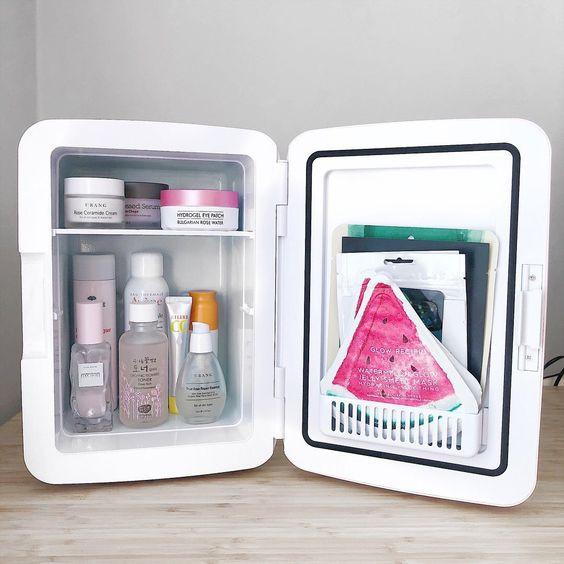 холодильник для хранения косметики