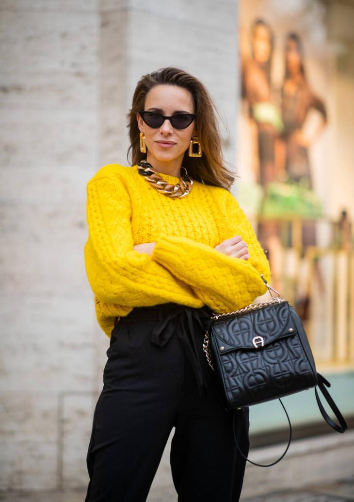 модный свитер зима