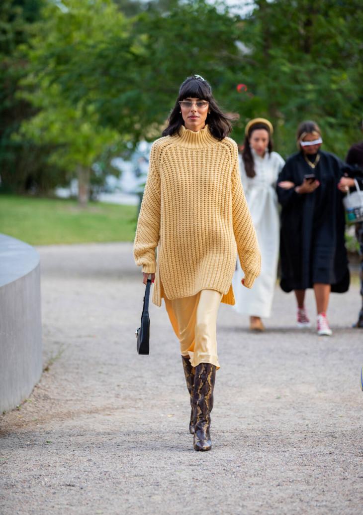 стильный свитер 2019
