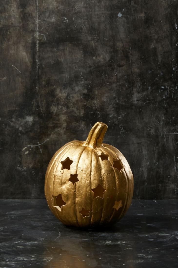 как украсить тыкву на хэллоуин