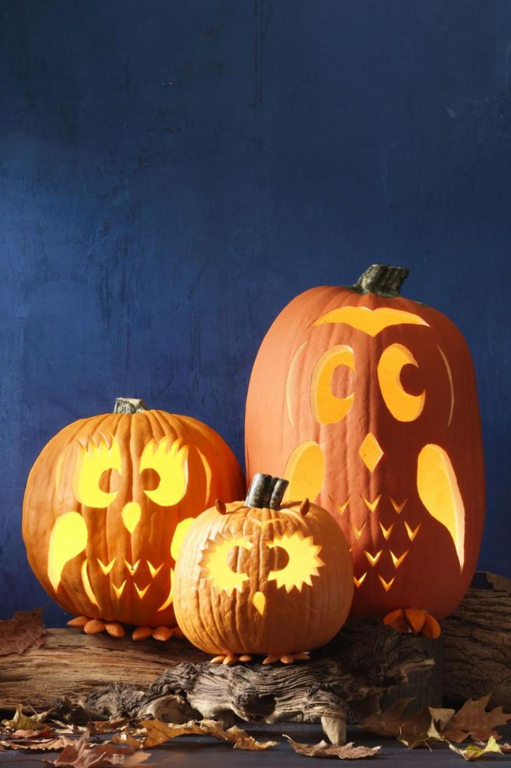 как оформить тыкву на хэллоуин