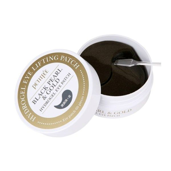 Black Pearl&Gold Hydrogel Eye Patch от Petitfee&Koelf