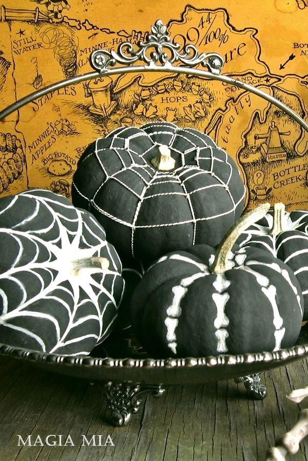 тыква на хэллоуин дизайн