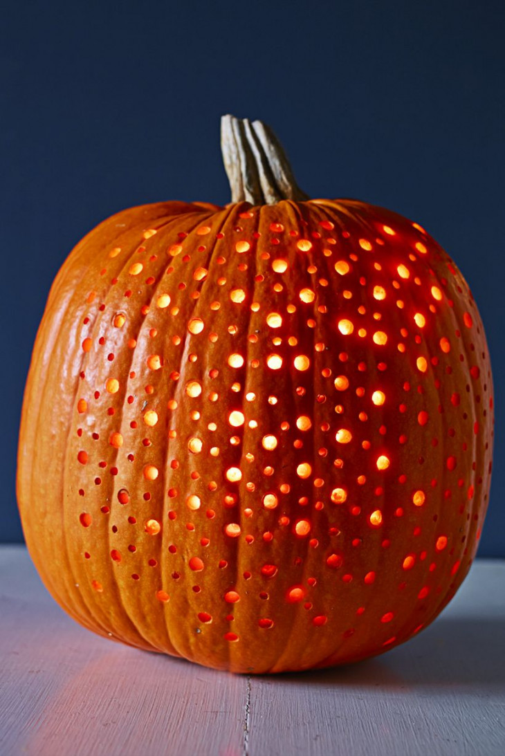 тыква на хэллоуин декор