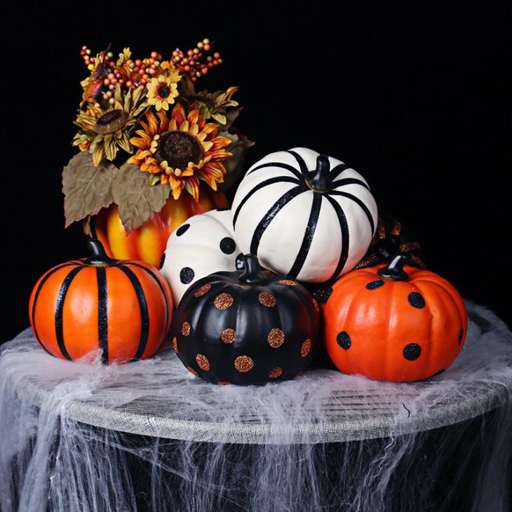Идеи декора тыквы на Хэллоуин