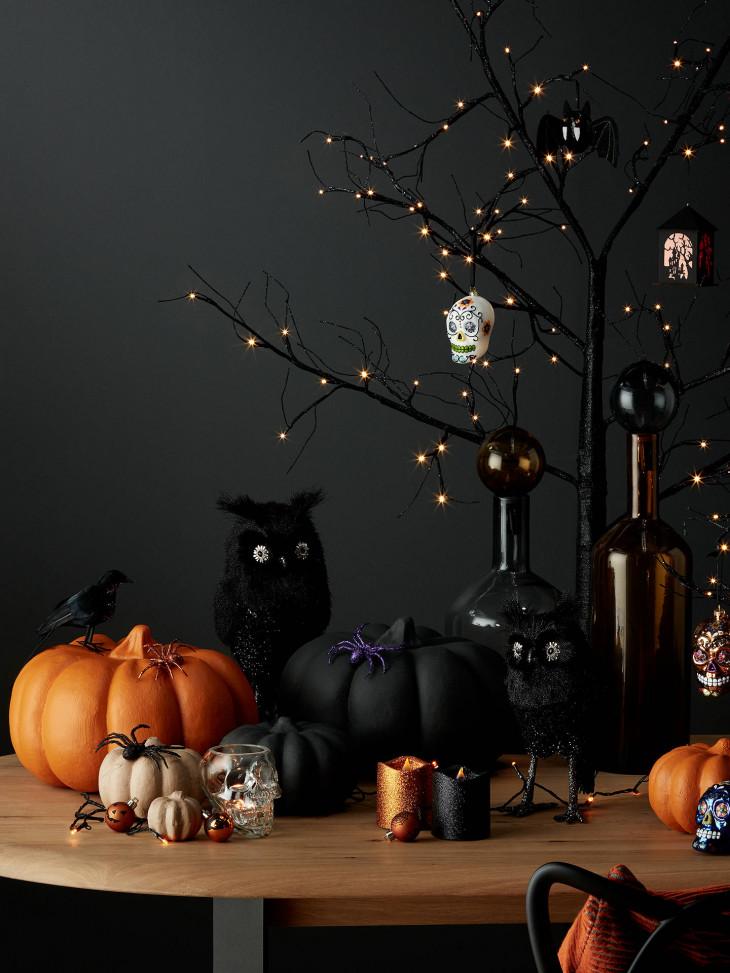 Декор тыквы на Хэллоуин 2019