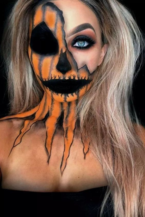 Hallowen makeup 2019