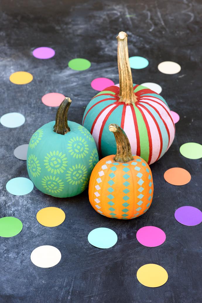 Тыква декор на Хэллоуин