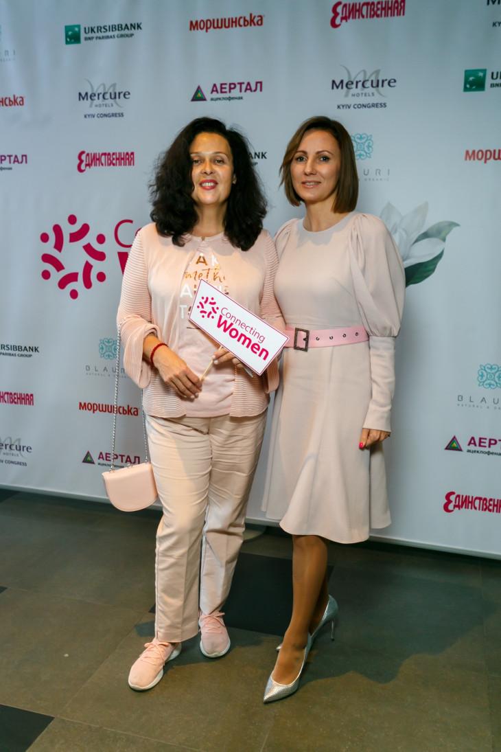 Иванна Слабошпицкая и Инна Катющенко