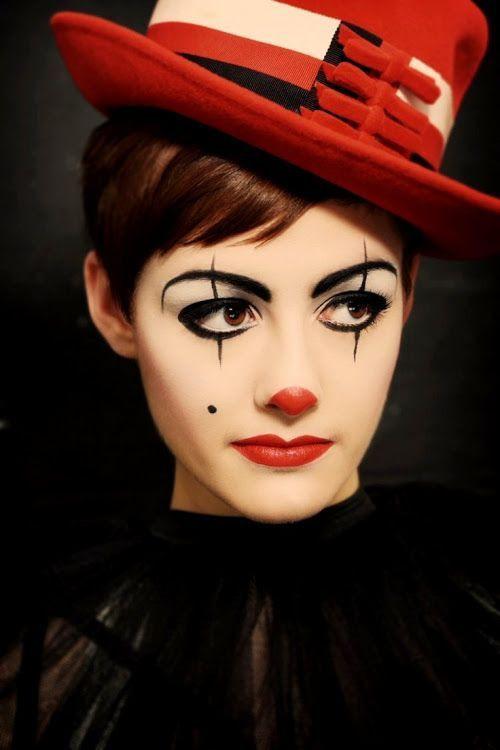 Легкий макияж на Хэллоуин