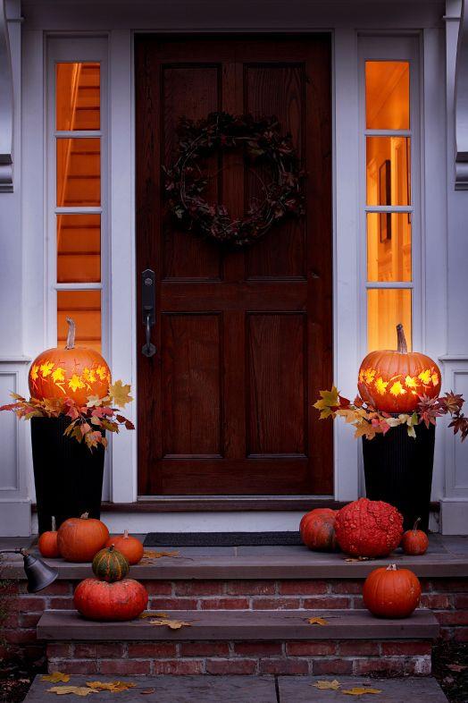 Дизайн тыквы на Хэллоуин