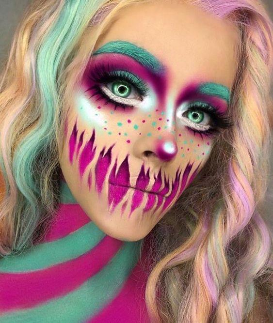 Хэллоуин макияж