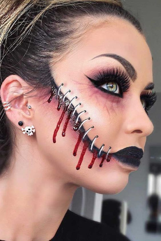 Макияж Хэллоуин 2019