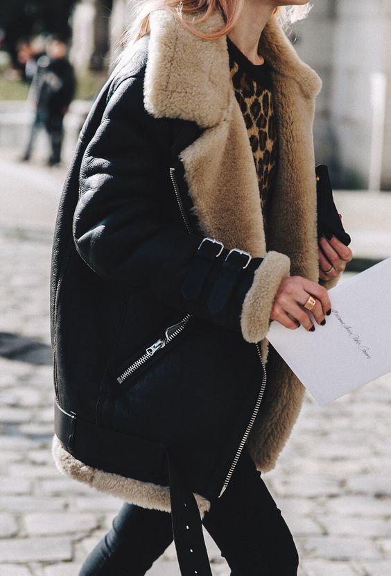 Модные зимние дубленки 2020