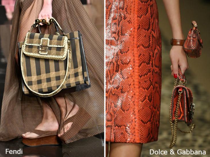 Модные двойные сумки 2020