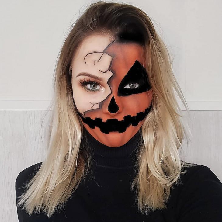 Макияж на Хэллоуин 2019 года