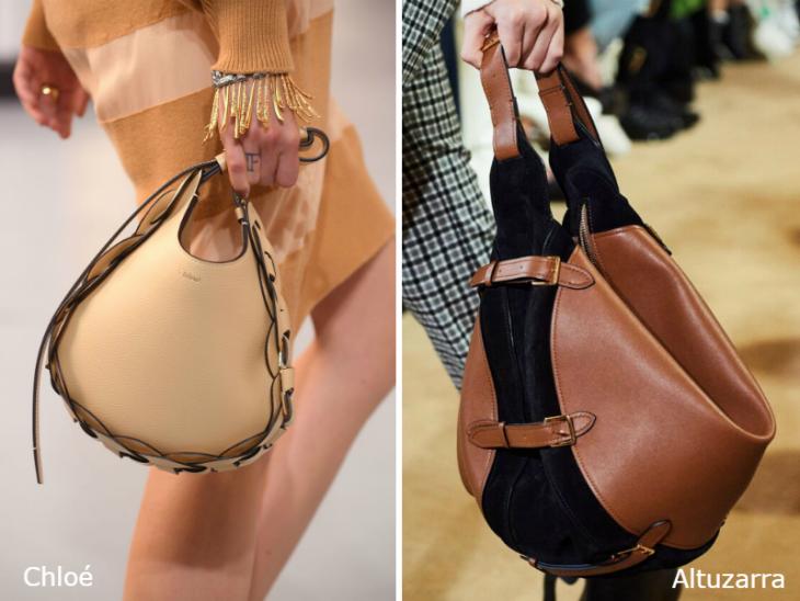 Модные сумки хобо 2020