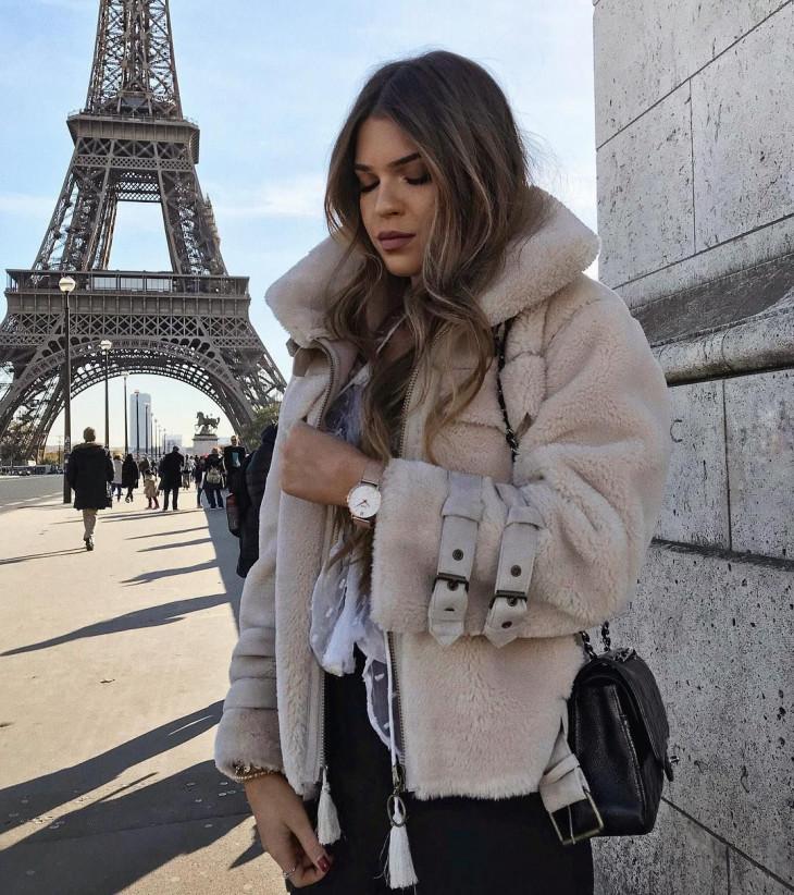 Модные женские куртки на зиму