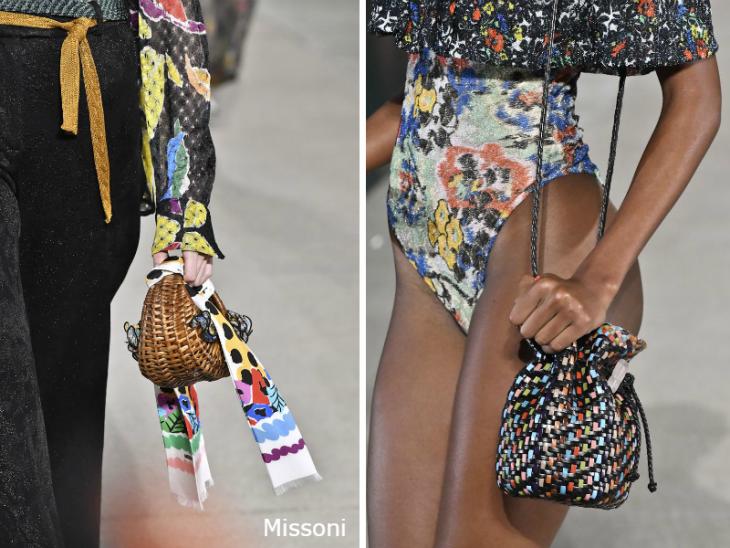 Плетеные сумки весна 2020