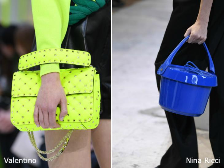 Модные яркие весенние сумки 2020