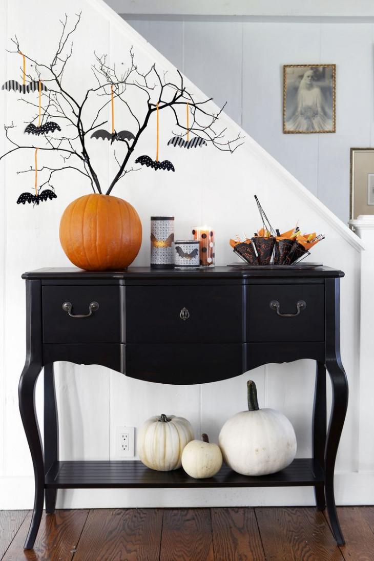 Декор тыквы для дома