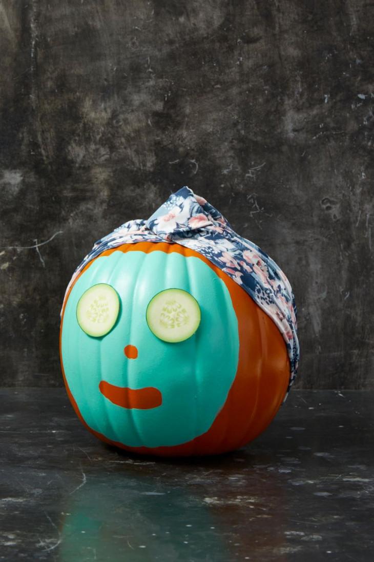 тыква на хэллоуин 2019