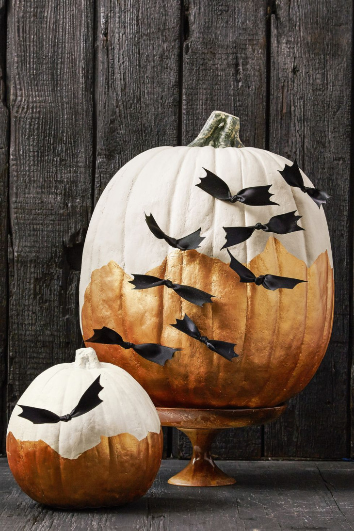 декор тыква хэллоуин