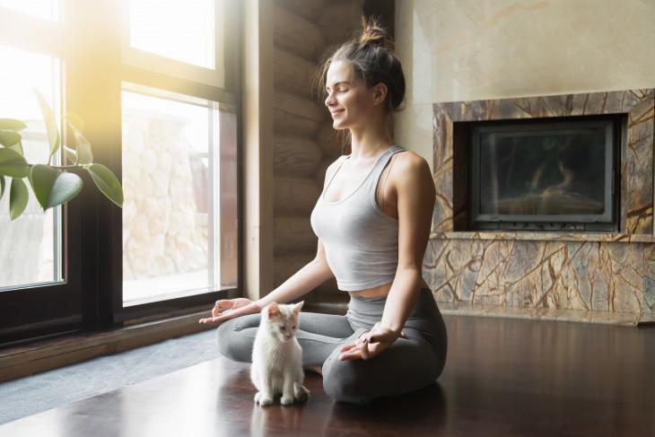 Утренняя медитация для женщин