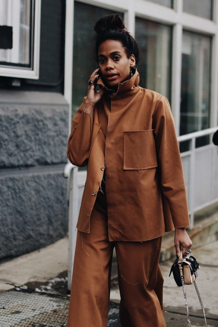 модный лук осень 2019