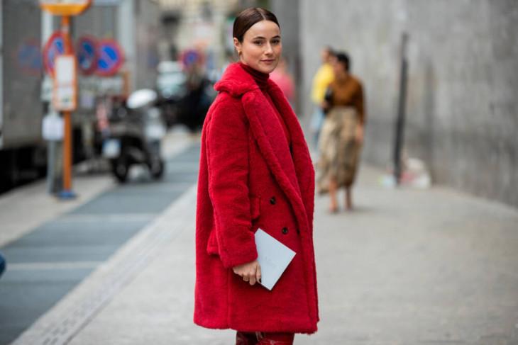 модное пальто осень